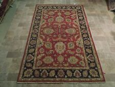 5' x 8' Organic Dyed Chobi Antique Reproduction Rug Hand Knotted
