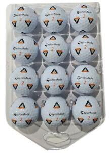 TAYLORMADE TP5X PIX 1 DOZEN GOLF BALLS - NEW 2021 BALL - BLISTER PACK