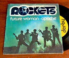 CUSCINO TRIBUTO ROCKETS FUTURE WOMAN GALACTICA MUSICA ANNI 80-1
