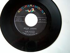 CLIFF RICHARD-ABC PARAMOUNT 10,042 ROCKABILLY 45 APRON SPRINGS  VG+ PLAYS GREAT