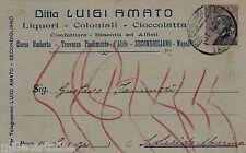 # SECONDIGLIANO: testatina- LUIGI AMATO- Cioccolata - liquori - coloniali