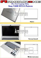 Armourone Sony VAIO SVT13 series Pre Cut Generation II Laptop Skin Protector