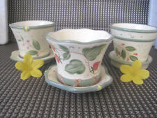 PartyLite Kerzentöpfchen **Wilde Erdbeeren** (Trio) ++Neu/Ovp++ und 3 Teelichter