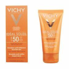 Facial Sun Cream Ideal Soleil Vichy Spf 50 (50 ml) Vichy - New