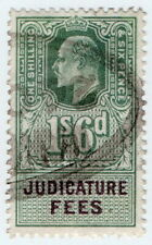 (I.B) Edward VII Revenue : Judicature Fees 1/6d