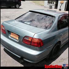 Rear Roof Spoiler Window Wing (Fits: Honda Civic 1996-00 4dr) 284R SpoilerKing