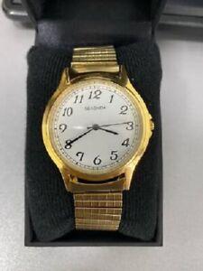 Sekonda Men's Gold Stainless Steel Band Wrist Watch