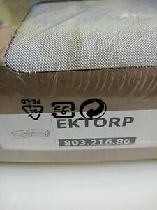 New Original IKEA cover set for Ektorp 4-seater corner sofa in LOFALLET BEIGE
