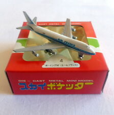 Vintage ZYLMEX diecast metal aircraft BOEING 747 AIR FRANCE MODERN TOYS with box