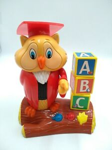Hasbro 2002 Professor Oliver Owl Teaches  ABC'S Talking And Learning