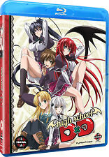 High School DxD . The Series . Complete Season 1 . Anime . 2 Blu-ray . NEU . OVP
