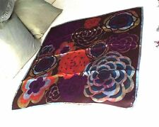 Altea Stunning Huge Wearable Art Hand Rolled Silk Scarf