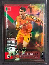 2013-14 Panini WCCF Cristiano Ronaldo Portugal refractor card Real Madrid