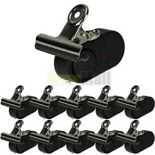 New 10Pcs Electronic Night Bite Fishing Alarm Alert Bell Clip on Rod with Light