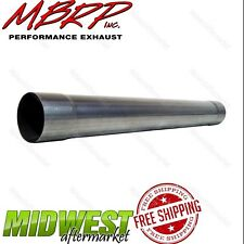 "MBRP 36"" Diesel Muffler Delete 4"" Pipe For 1994-2007 Dodge Ram 2500 3500 Cummins"