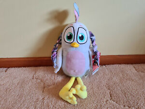 Rovio **ANGRY BIRD SILVER** soft toy **BNWT