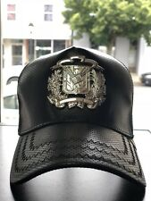 307c7424a74 Dominican Republic Shield SnapBack Trucker Artificial leather Hat