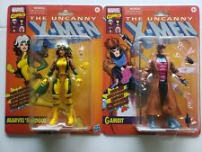 Hasbro Marvel Legends Vintage (Target) X-Men Animated Series ROGUE and Gambit