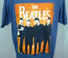 The Beatles Blue 2XL T-Shirt Beatles Standing Apple Corps LTD Cotton Blend