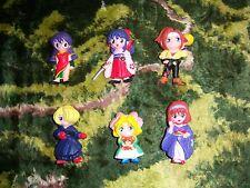 Sakura Wars Red Sega (1997) action figure lot of 6
