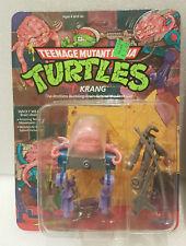 RARE MISPACKED Variant MUTANT NINJA TURTLES 1989 TMNT KRANG Unpunched - MOC - 14