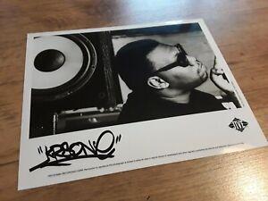 KRS ONE - RETURN OF THE BOOM BAP - OG - PRESS PHOTO - JIVE RECORDS - 1993