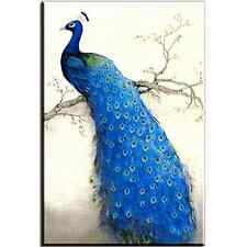 Canvas Print Peacock on the Tree Animal Wall Art Home Decor Bedroom Living Room