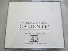 Tango & Mambo Caliente! The Gold Collection 40 Classic Performances - 2 CD s