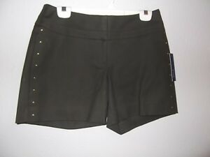 APT 9 - WOMEN - SHORTS - OLIVE GREEN - SIZE 6    (AC-27-8)