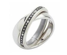 Modeschmuck-Ringe aus Edelstein und Edelstahl für Damen