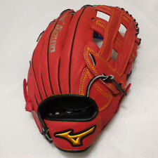 "MIZUNO Friendship 13"" H Web RED/Black Right-Handed Throw Outfield Softball Glove"