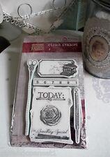 Vintage antique Machine à écrire Mousse Estampille Stamp DIY scrapbooking 994