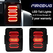 Firebug Jeep Wrangler Rear LED Lights, Jeep Wrangler LED Tail Light, Brake Light
