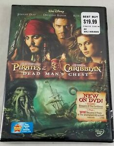Disney Pirates Of The Caribbean DMC Dead Mans Chest DVD 2 Disc Special Edition