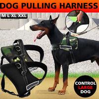 M-XXL Hundegeschirr Weiche Mesh Atmungsaktiv Einstellbare Geschirr Hund DE   !