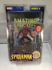 Spider-man Classic Series 2 Spider-man w Billboard Accessory + Comic J*