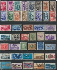Italian Stamps - Singles - C.T. O. & Mint - Lot A-10(2)