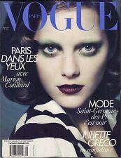 Vogue Paris September 2010 Juuette Greco VG 070616DBE3