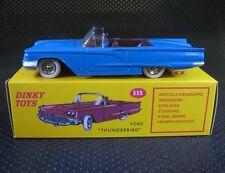Dinky Toys Atlas 1:43 Ford Thunderbird Ref 555 die-cast car model 1
