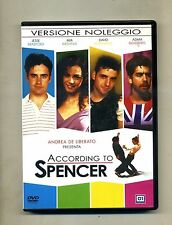 ACCORDING TO SPENCER # 01 Distribution DVD-Video 2006