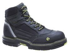 """Men's Wolverine Overman Composite Toe 6"""" Boot Gray Size 7 Extra Wide #NI6OA-M417"""