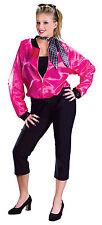 Damen 50er Jahre Fett rosa Damen T-Bird Sweetie Fancy Dress Größe 10-14
