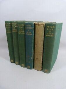 Lot of 6 Arthur Ransome adventures inc Secret Water 1st edition 1939 Swallowdale