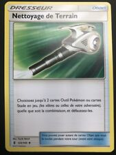 Carte Pokemon NETTOYAGE DE TERRAIN 125/145 Dresseur Soleil et Lune 2 SL2 FR NEUF