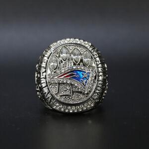 Tom Brady Ring New England Patriots 2014 Super Bowl Championship Ring with Box