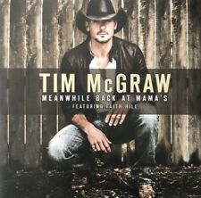 TIM MCGRAW ft FAITH HILL - MEANWHILE BACK AT MAMAS PROMOTIONAL CD SINGLE