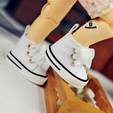 1/6 BJD Shoes Yosd White canvas Sneaker Shoes Boots Dollfie DIM DOD AOD SOOM DZ