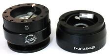 NRG Steering Wheel Short Hub Adapter Quick Release BK For Nissan Datsun