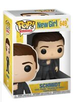 New Girl Schmidt T.V Funko pop! #649 rare with pop Protector! mint to near mint