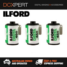 ILFORD DELTA 400 – 3 PACK – 36 EXPOSURES – 35mm BLACK & WHITE NEGATIVE FILM